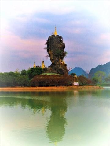 Myanmar Hpa-An Kyaik-Ka-Lat