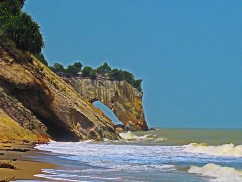 Bornéo Miri Tusan Beach