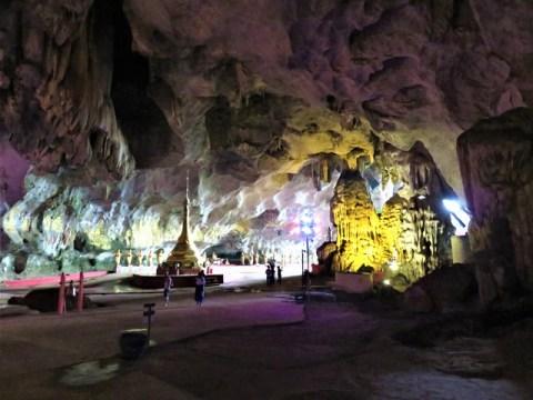 Myanmar Hpa-An grotte Saddan