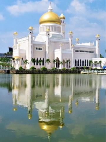 Brunei Bandar Seri Begawan Mosquée Omar Ali Saifuddien