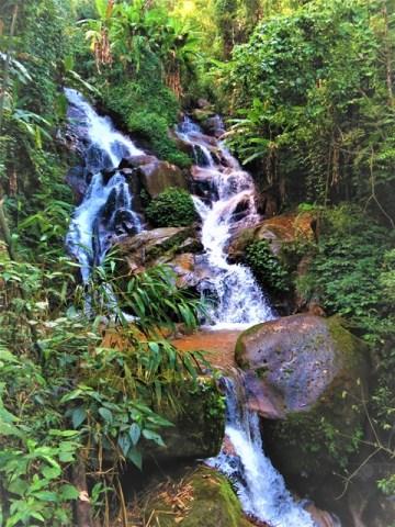 Thaïlande Chiang Rai Triangle d'Or cascade