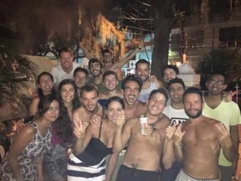 Brésil Rio de Janeiro soirée