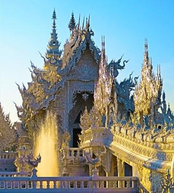 Thaïlande Chiang Rai White temple