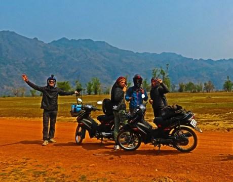 Laos boucle scooter de Thakhek Cool Springs