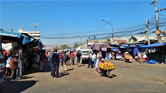 Bolivie Cochabamba marché de la cancha