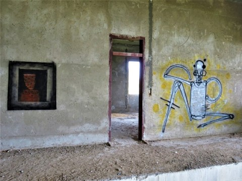 Cambodge Kep villa abandonnée