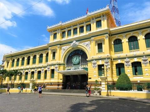 Vietnam Ho-Chi-Minh ville Poste Centrale