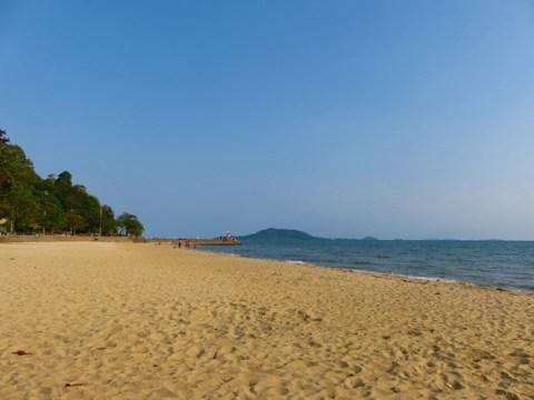 Cambodge Kep plage