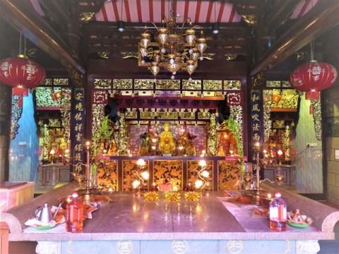 Malaisie Kuala Terengganu temple chinois