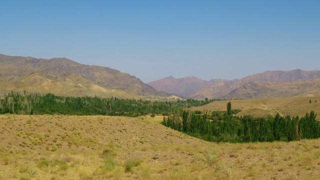 Iran Abyaneh vallée