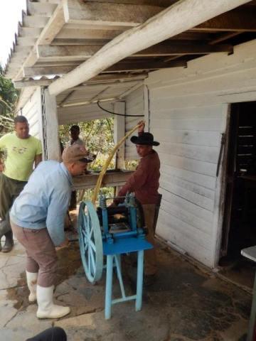 Cuba Vinales ferme alcool