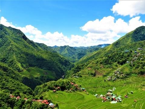 Philippines rizières de batad