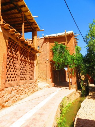 Iran Abyaneh architecture