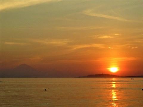 Bali Lombok coucher de soleil