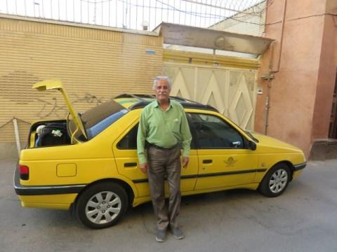 Iran Abyaneh taxi
