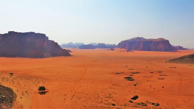 Jordanie désert Wadi Rum excursion