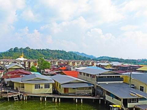 Brunei Kampong Ayer pilotis