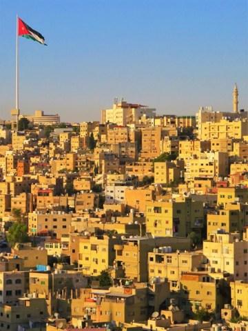 Jordanie Amman citadelle