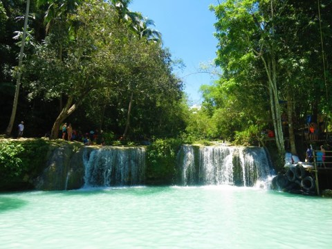 Philippines Siquijor cascade Cambughay