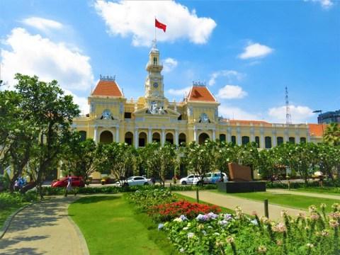 Vietnam Ho-Chi-Minh ville hôtel de ville