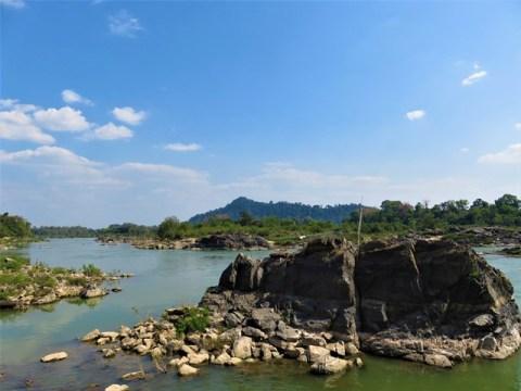 Laos 4000 îles Don Khone plage Xai Kong Nyai