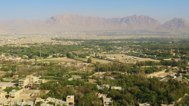Iran Ispahan temple Ateshkadeh-ye