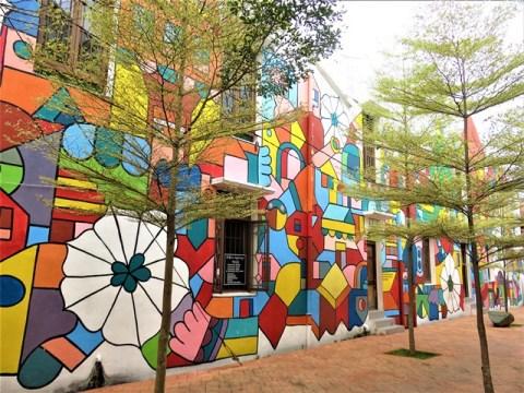 Malaisie Malacca trishaw street art