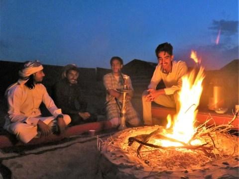 Jordanie désert Wadi Rum camp de bédouins
