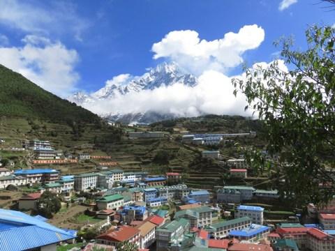 Népal Trek de l'Everest Namche Bazaar