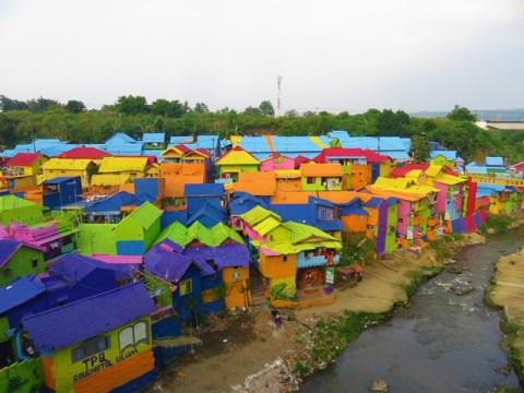 Java Malang rainbow village