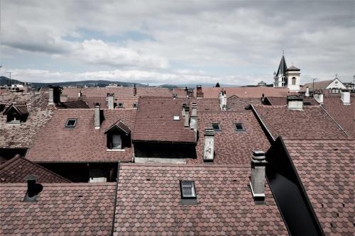 Annecy vieille ville les toits