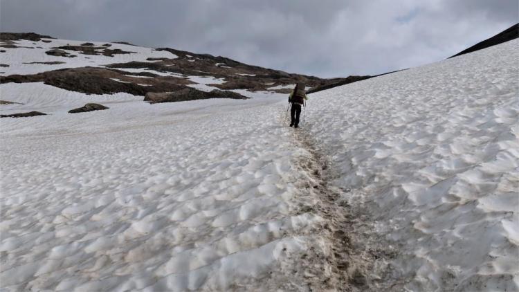 Trek du Tour du Mont Blanc Col des Fours