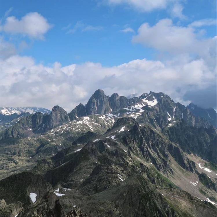Trek du tour du mont blanc Aiguilles d'Argentière