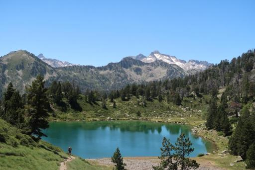 Tour Néouvielle Lac Inférieur Bastan