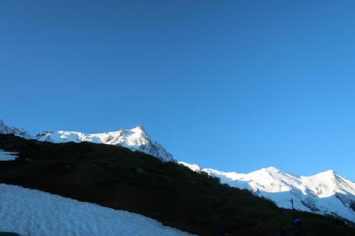 Refuge du plan - Mont Blanc