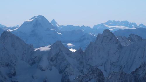 Aiguille du Midi - Vue sur Cervin