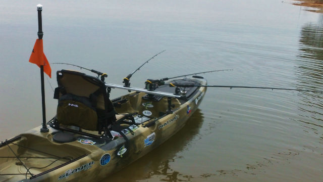 Kayak Fishing TracDash 900 Railblaza Track 2