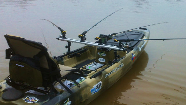 Kayak Fishing TracDash 900 Railblaza Track