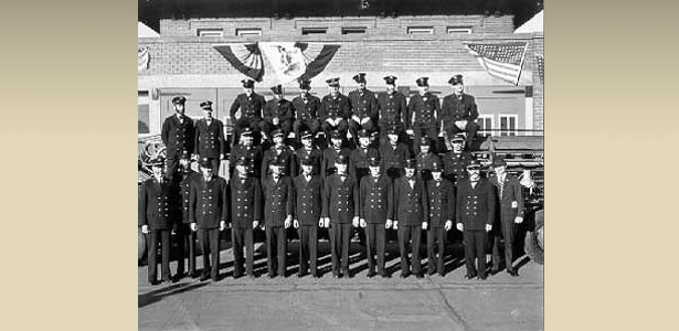 Historic Firefighter Group Photo