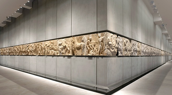 Parthenon frieze, Acropolis Museum