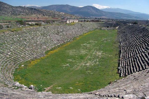 stadium, Aphrodisias
