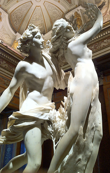 Apollo and Daphne, Bernini, 1625