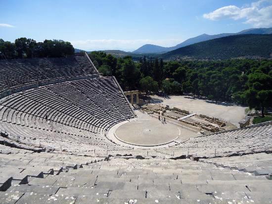 Theater of Epidaurus, Greece