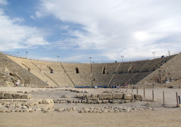 Roman theater at Caesarea Maritima