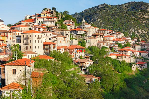 Dimitsana village, Greece