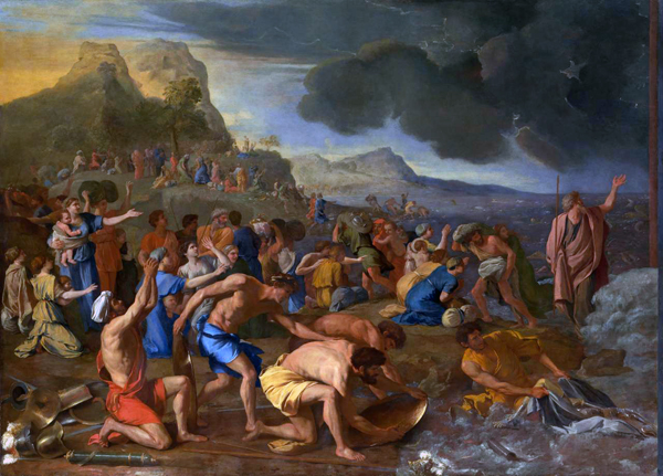 The Crossing of the Red Sea, Nicolas Poussin, 1634