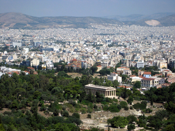 Hephaestus Temple, Athens, Greece