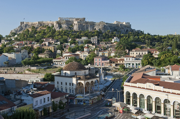 Monastiraki neighborhood, Athens, Greece