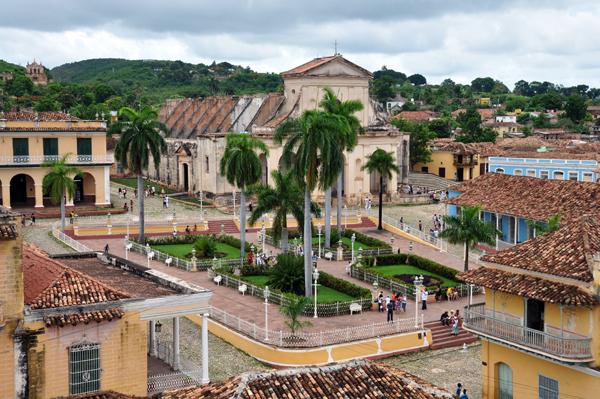 Plaza Mayor, Trinidad de Cuba