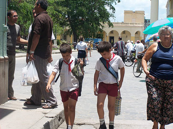 school boys, Havana, Cuba